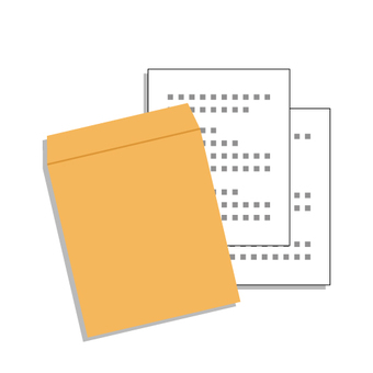 Documents (no letter pattern on envelopes)