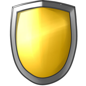 Easy material shield yellow