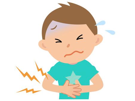 61018. Boys, abdominal pain