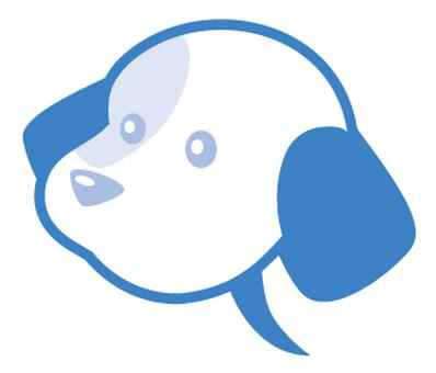 Dog type balloon _ sky