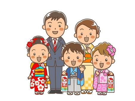 Shichigosan Parents and Children