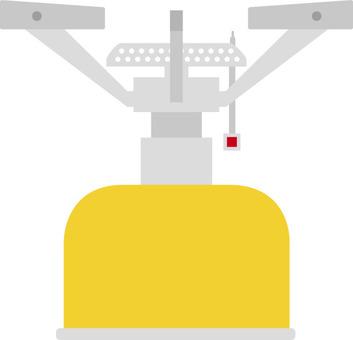 Camp burner · stove (Yellow)