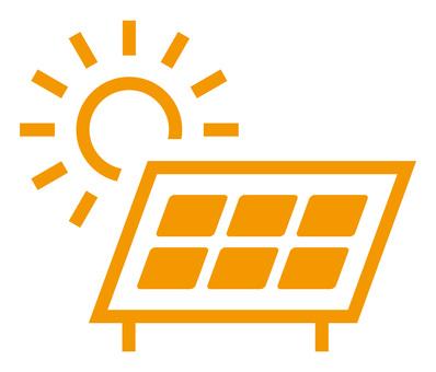 太陽光発電 アイコン