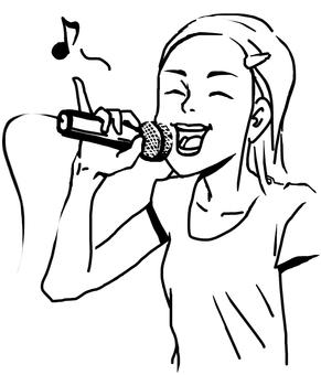 Karaoke girls