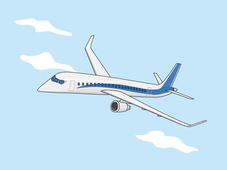 Passenger aircraft (minicomputer) 4