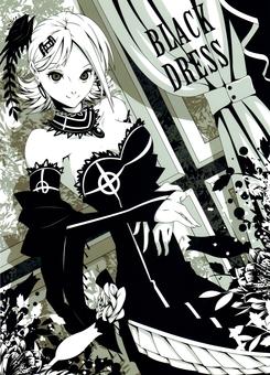 Black dress girl
