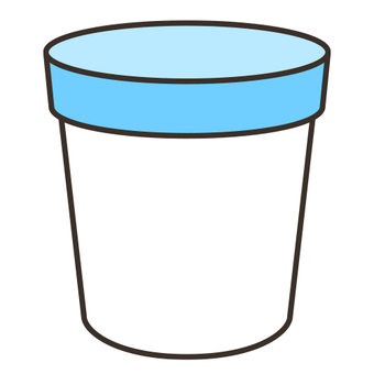 Cup with lid _ B