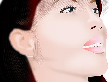 Women's profile profile series 09