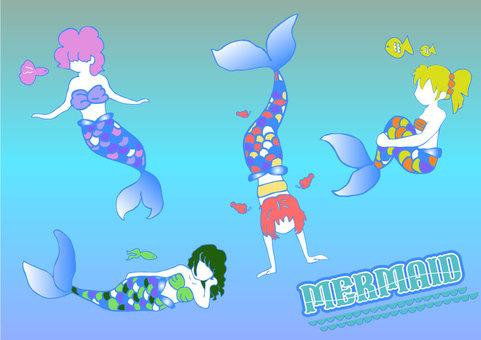 Mermaid 4 sisters