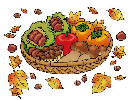 秋天的味道拼盤