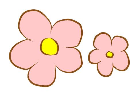 Flower (gentle pink)