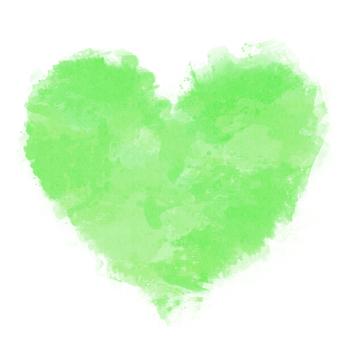 Watercolor Heart 13