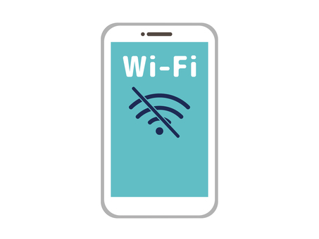 Wi-Fi connection not possible Smartphone