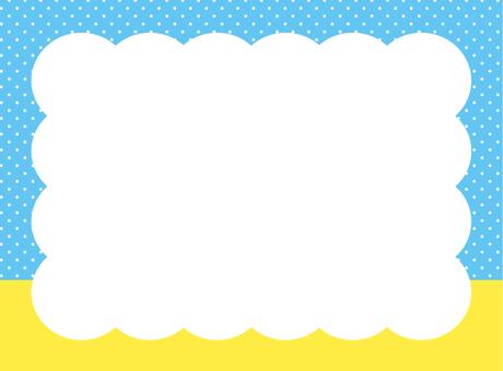 여름 프레임 (파란색)