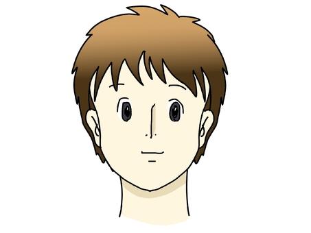 Face (before masking)