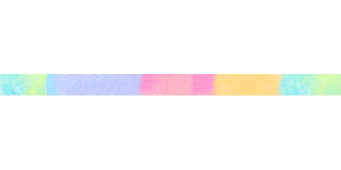 Rainbow color line