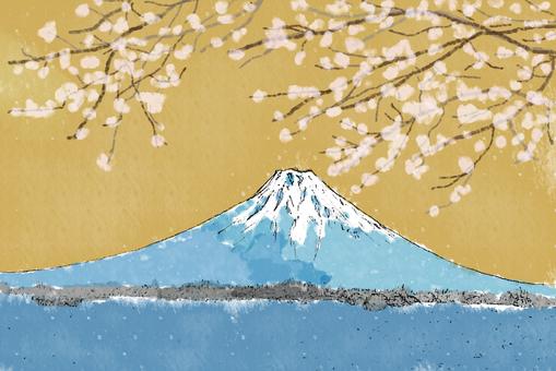 富士桜(ゴールド)