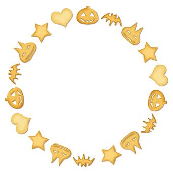Halloween Cookie Circle