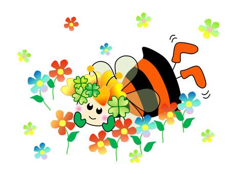 요정 _ 꿀벌 _ 뒹굴기