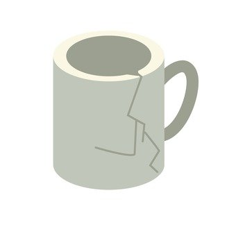 Garbage Sorting - Broken Mug Cup