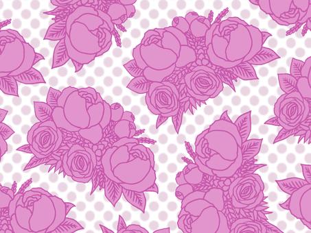 Bouquet wallpaper purple