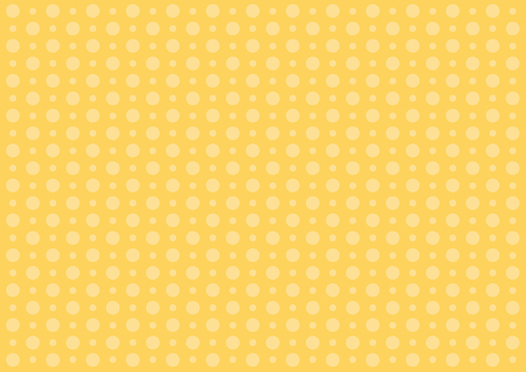 Wallpaper - large and small polka dots - orange
