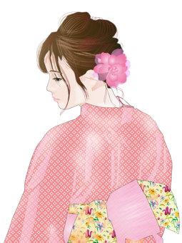 Yukata woman 05