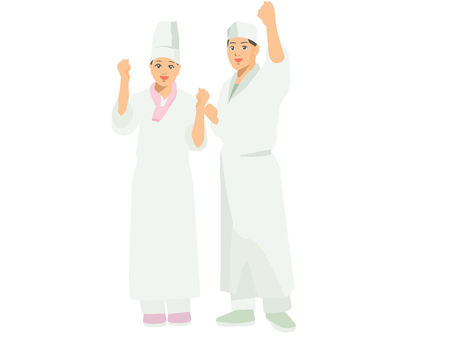 Cooking clothes men and women