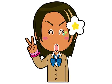 Piece _ Kogal Schoolgirl B_044