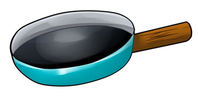 A frying pan