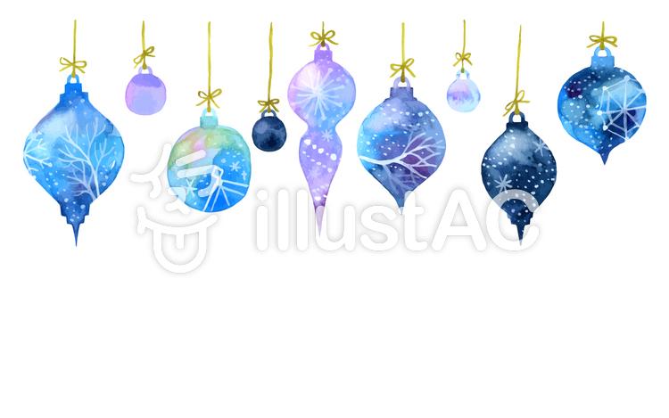 クリスマスオーナメントイラスト No 877053無料イラストなら