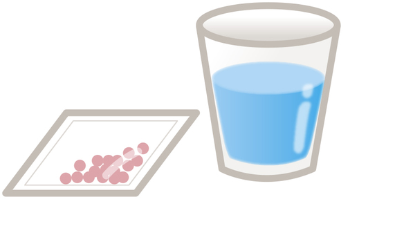 Water and medicine