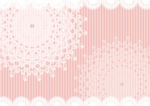 Lace & lace frame