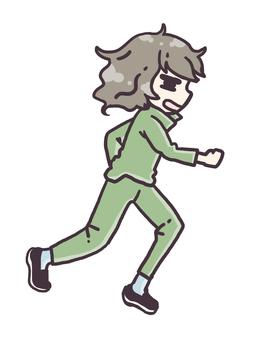 Run through