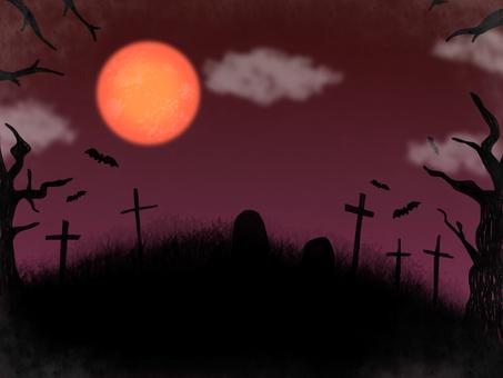 怖い ホラー ハロウィン 背景