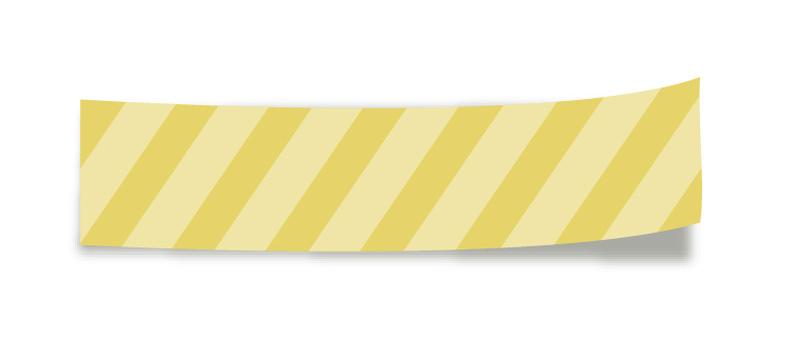 Masking tape <Yellow>