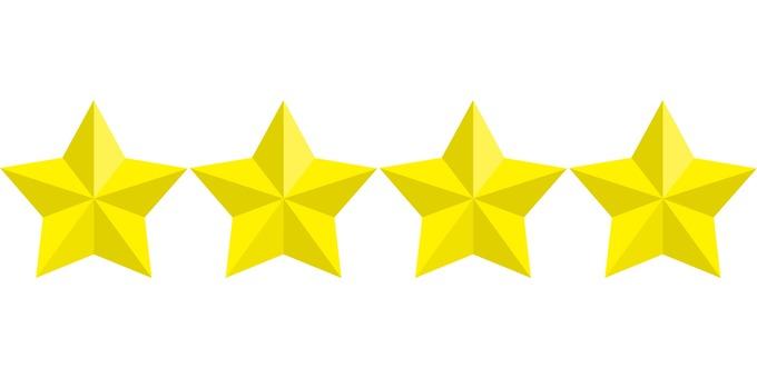 Stars 4 icons ★ 3D ★ Design Parts