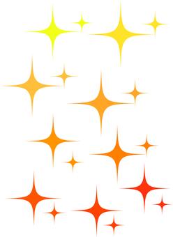 Glitter orange system full