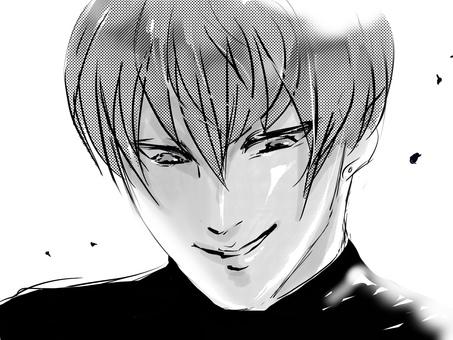 Cartoon twink invincible smile