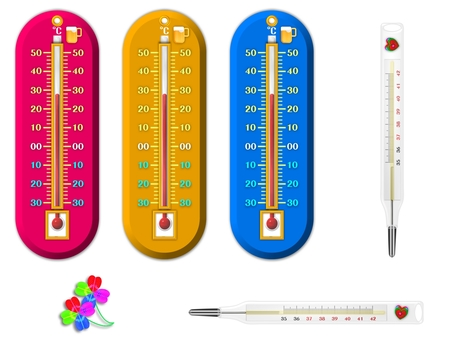 Thermometer, thermometer set (3517)