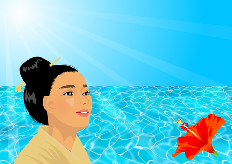 沖縄の女性