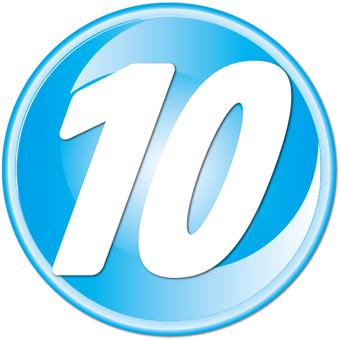 """數字鍵""""10"""""""