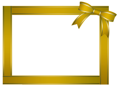 Yellow ribbon frame