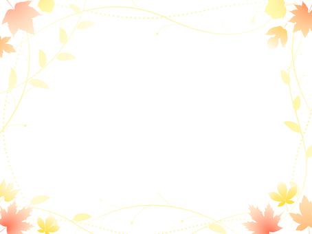 ai 단풍 배경 · 벽지 · 프레임