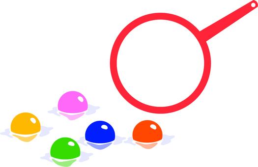 Super ball scoop aiming