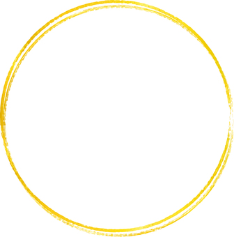 Free illustrations Free material CS5 golden round circle double