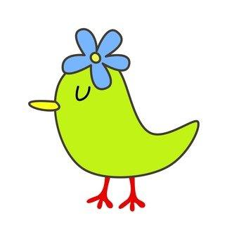 Green bird 7