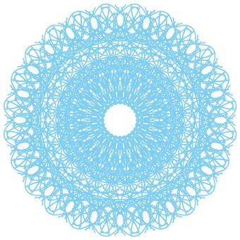Lace / blue