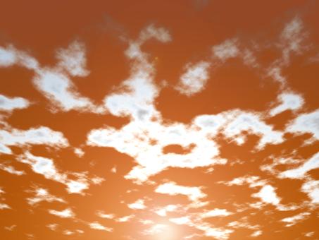 Sunset (with sun)
