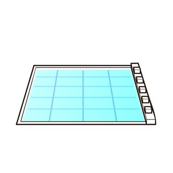 A swimming pool